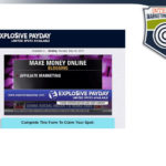 Explosive Payday Review – Legitimate Income Opportunity?
