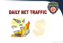 daily net traffic