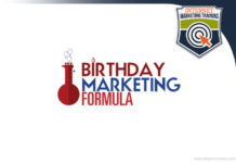 birthday marketing formula