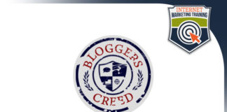 bloggers creed