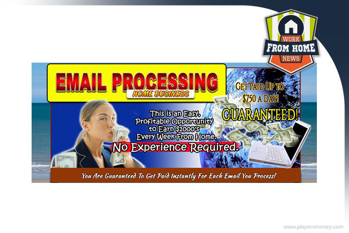 email processing home business