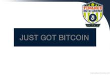 just got bitcoin