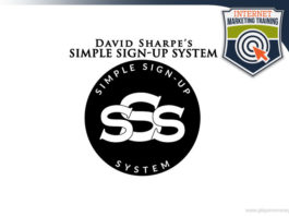 david sharpe simple sign up system